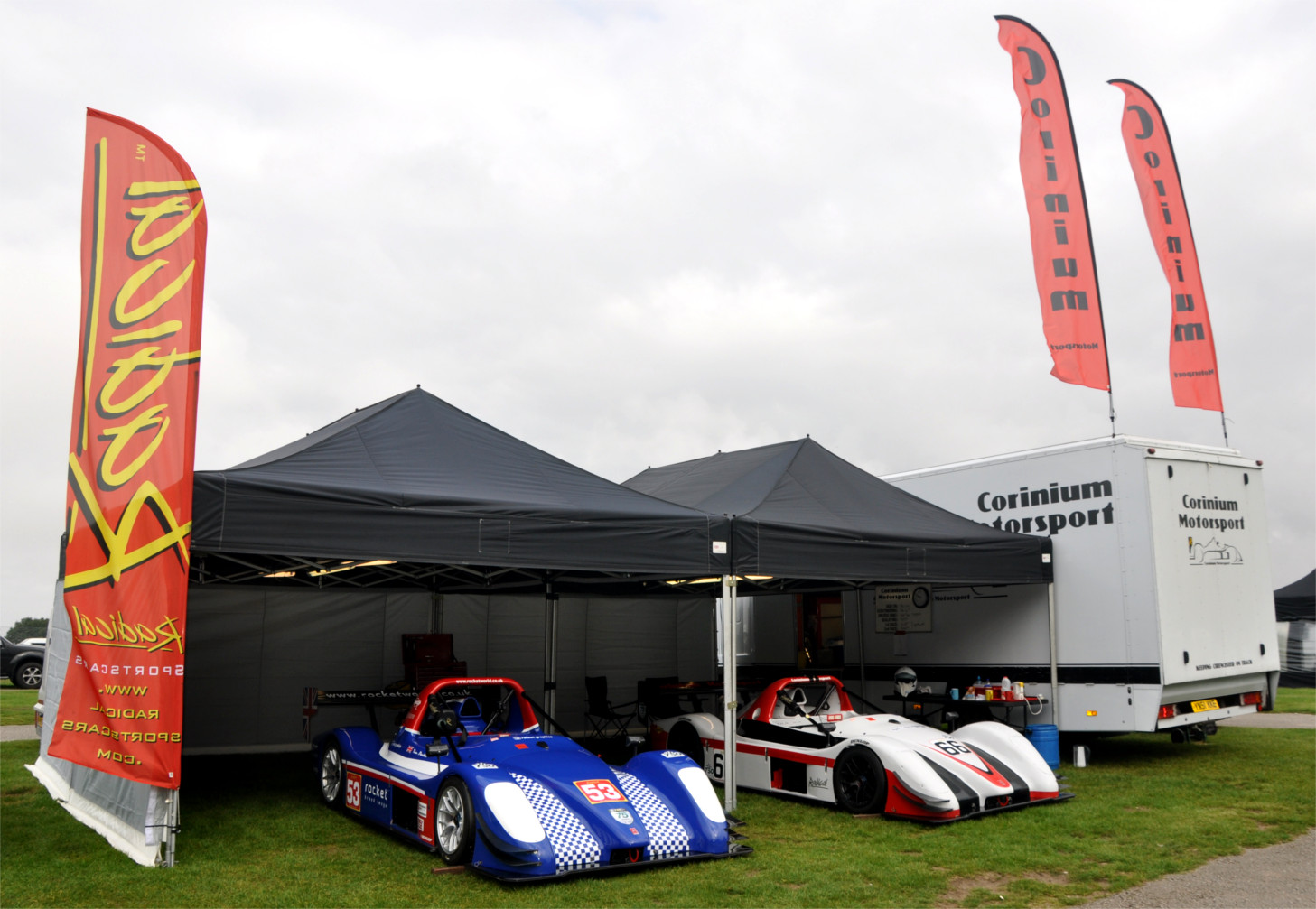 Corinium Motorsport - Cadwell Park - Radical Sportscars