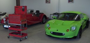 Corinium Motorsport - Workshop - Elise - MG